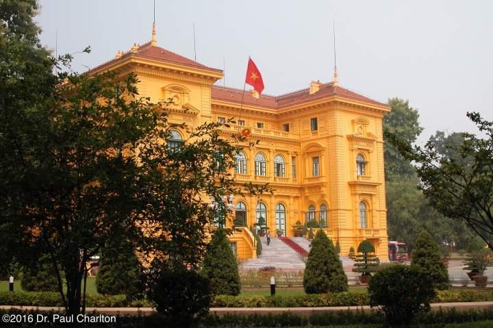 Ho Chi Min House Hanoi Vietnam