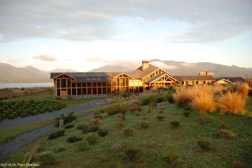 PCC coaching venue Te Anau South Island New Zealand