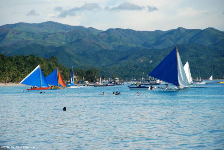 Sailing Borocay Philippines