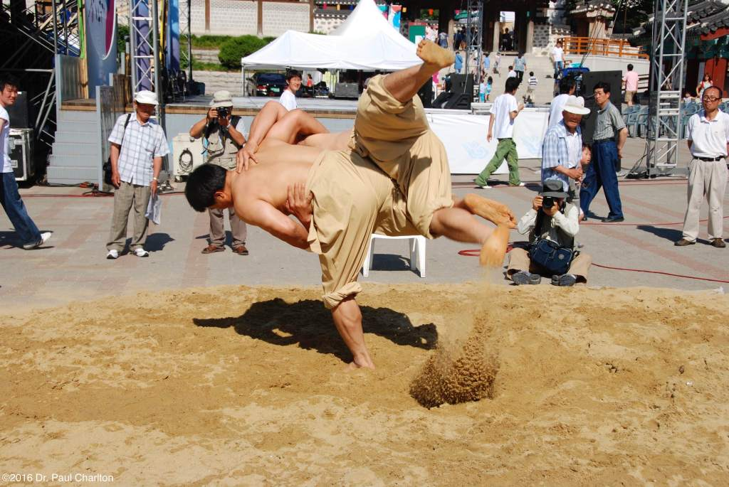 South Korea Wrestling