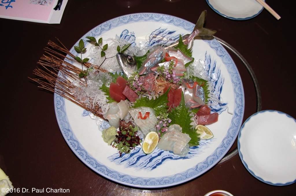 Sushi Sashimi Osaka Japan